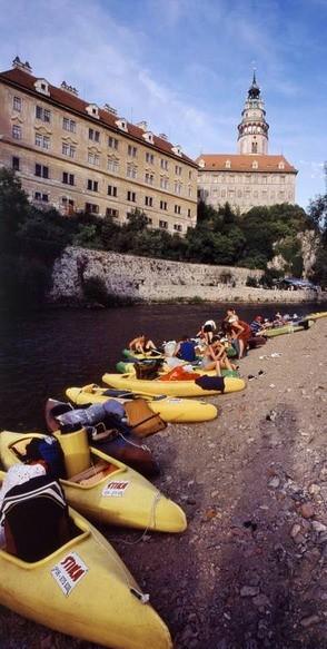 Vodácký výlet Vltava 2010